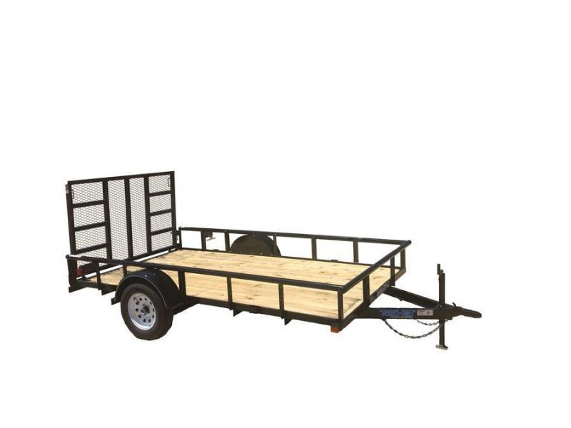 2019 6.5X10 Top Hat Utility Trailer