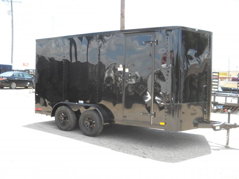 2018 Cargo Craft 7X16 Enclosed Cargo Trailer W/ REAR RAMP