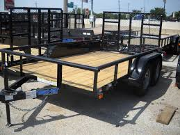 2018 Top Hat 7X12 Pipe-Top Utility Trailer