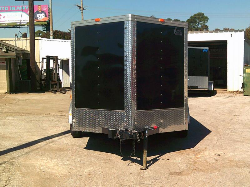 USED 2017 Cargo Craft VECTOR 7X15 Enclosed Cargo Trailer