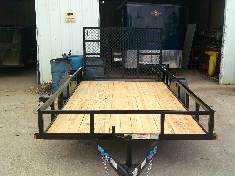 2019 Top Hat 6.5X12 Utility Trailer