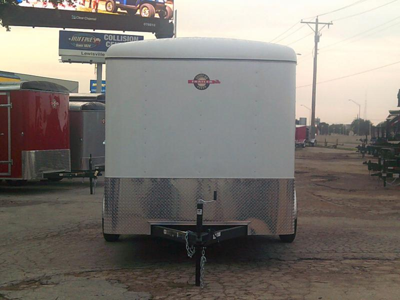2019 Carry-On 7X12 w/ RAER RAMP Enclosed Cargo Trailer