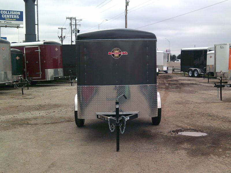 2019 Carry-On 5x10 W/ Rear Ramp Enclosed Cargo Trailer