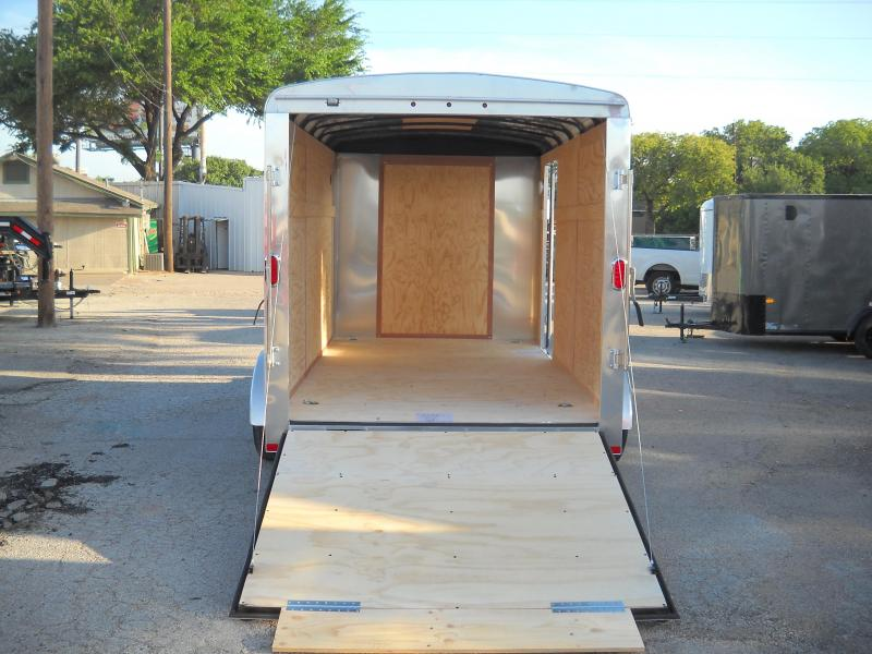 2018 Carry-On 7X14 Enclosed Cargo Trailer W/ Rear Ramp