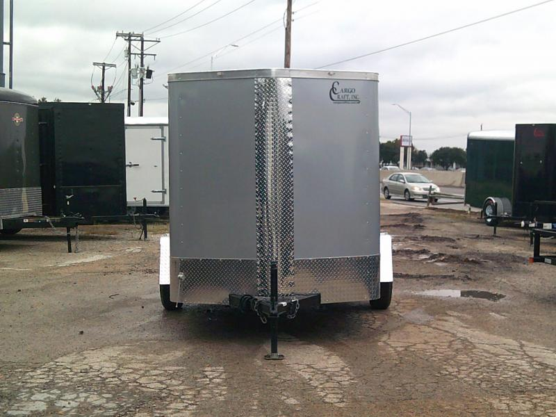 2019 Cargo Craft 6X10 Enclosed Cargo Trailer W/ Rear Ramp