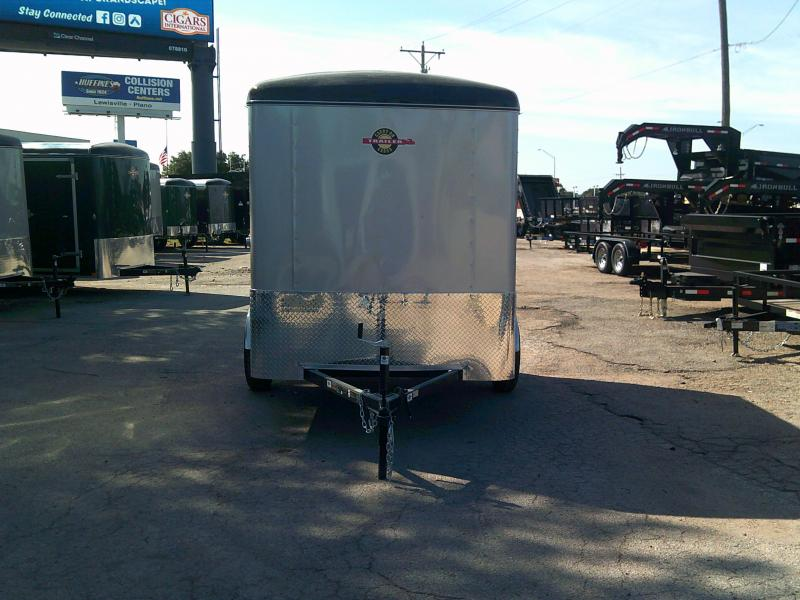 2019 Carry-On 6X10 W/ REAR RAMP Enclosed Cargo Trailer