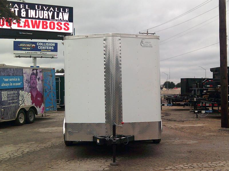 2019 Cargo Craft 7X16 Enclosed Cargo Trailer W/ REAR RAMP