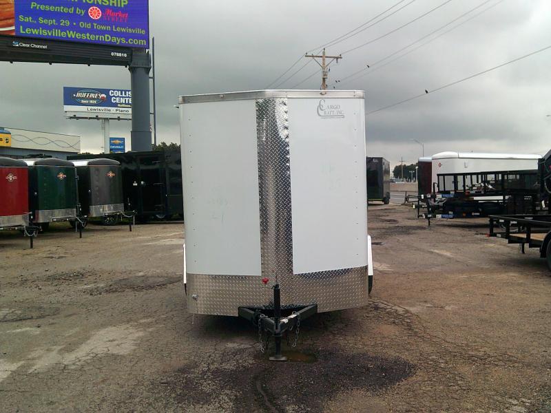 2019 Cargo Craft 6X12 w/ Rear Ramp Enclosed Cargo Trailer