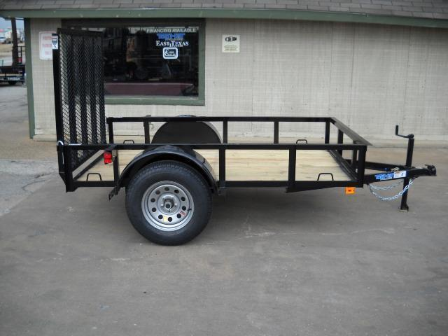 2018 Top Hat Trailers 5X8 Utility Trailer