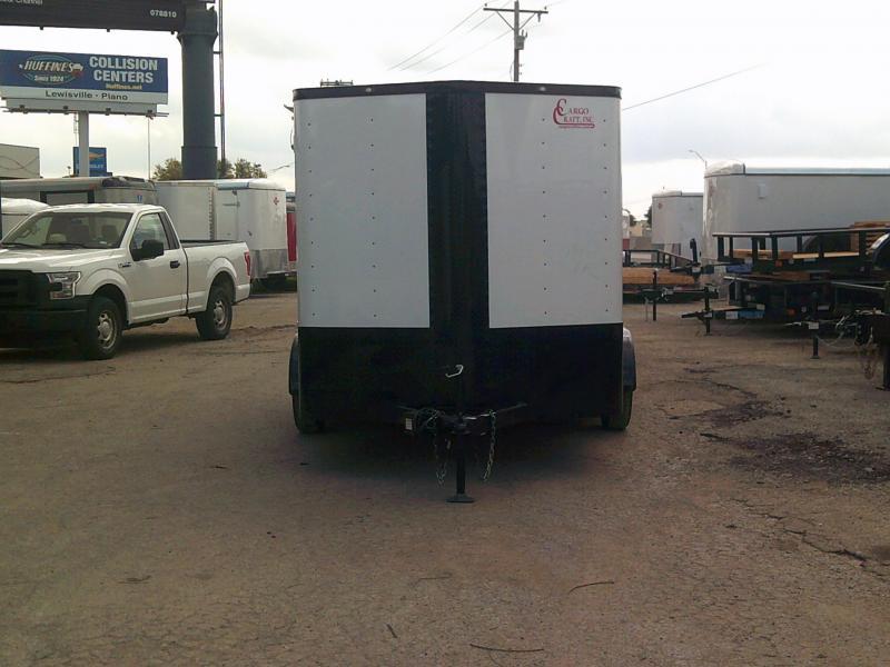 2019 Cargo Craft 7X14 Enclosed Cargo Trailer W/ Rear Ramp