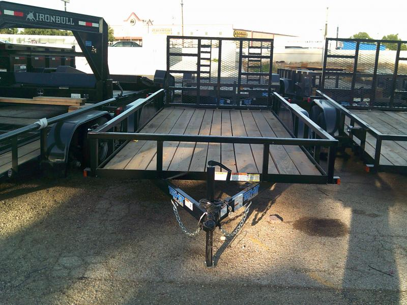 2019 Top Hat Trailers 6.5X16 Utility Trailer