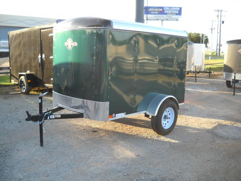 2018 Carry-On 5X8 Enclosed Cargo Trailer w/ rear door