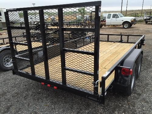 2018 Top Hat Trailers 6.5X14 Utility Trailer
