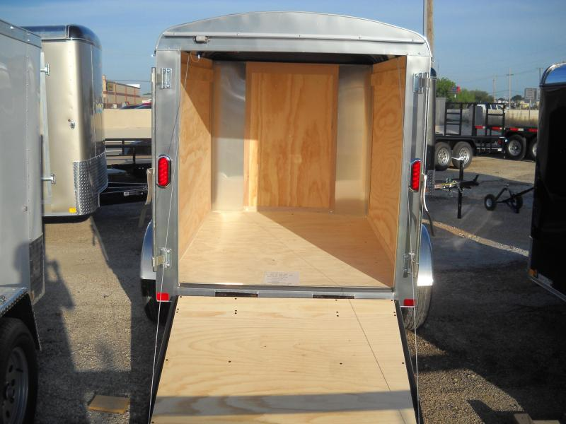 2018 Carry-On 5X8 Enclosed Cargo Trailer W/ Rear Ramp