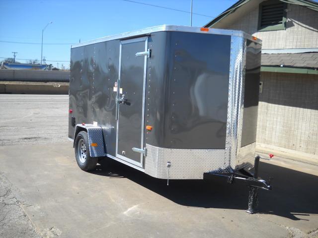 2017 Cargo Craft EV6121 Enclosed Cargo Trailer