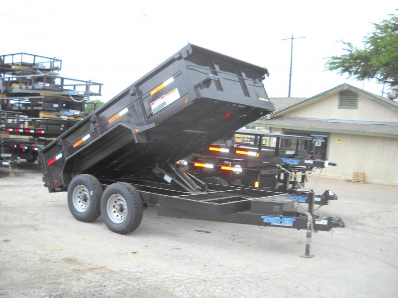 2018 Top Hat Trailers 7X12 Dump Trailer