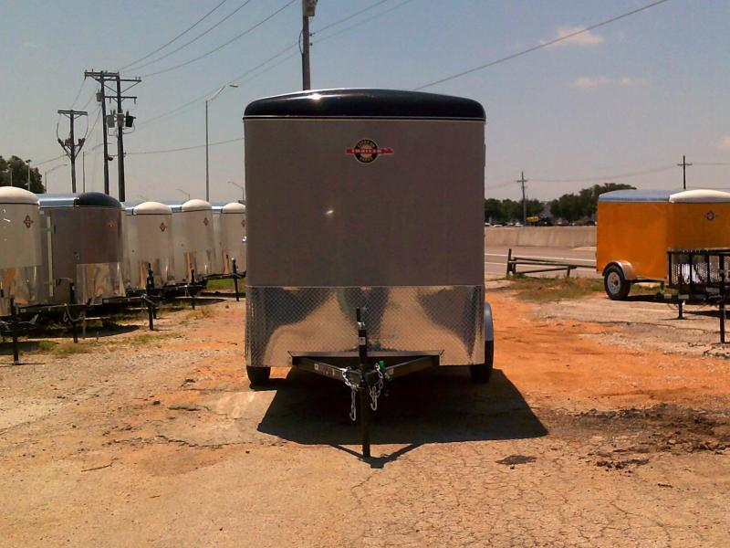 2019 Carry-On 6x12 W/ REAR RAMP Enclosed Cargo Trailer