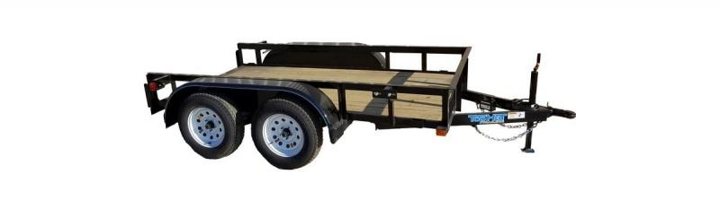2019 5X10 TANDEM AXLE Top Hat Utility Trailer