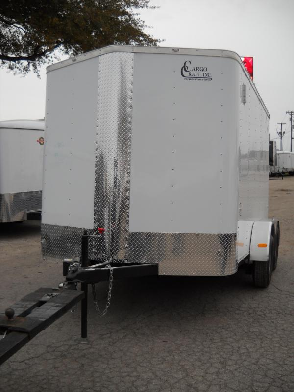 2018 Cargo Craft EV-7122 Enclosed Cargo Trailer