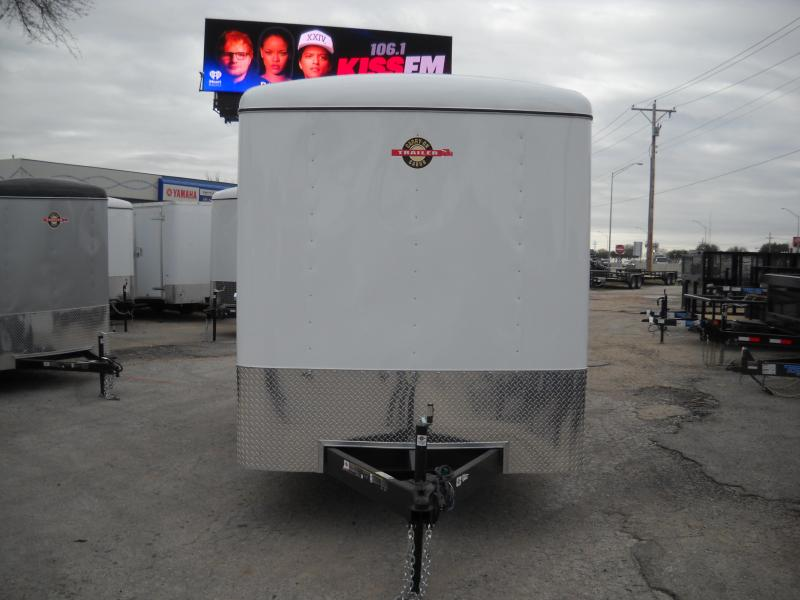 2018 Carry-On 6X12 Tandem Axle Enclosed Cargo Trailer