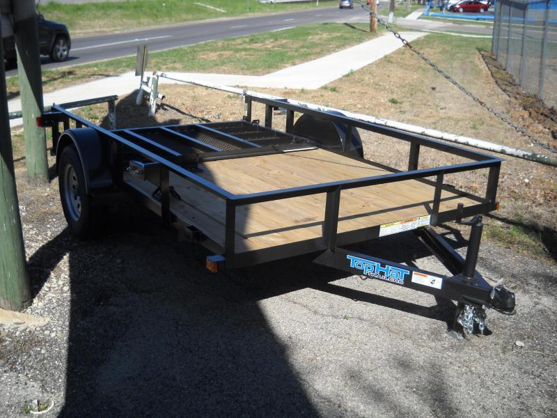 2019 Top Hat 6.5X10 Utility Trailer