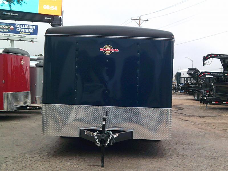 2019 Carry-On 8.5X16 Enclosed Cargo Trailer W/ REAR RAMP HEAVY DUTY