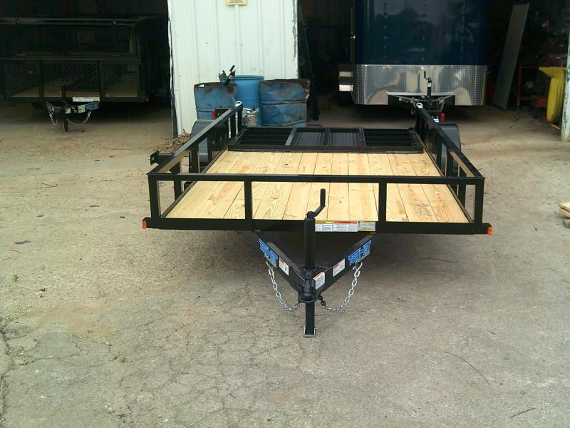 2019 Top Hat 77X12 Utility Trailer