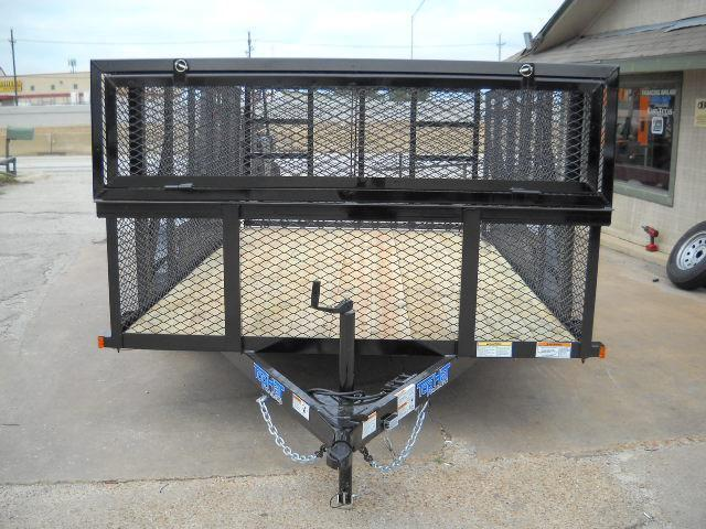 2018 Top Hat LS16X7-7E-C Utility Trailer
