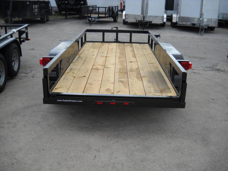 2018 Top Hat Trailers 5X12 Tandem Axle Utility Trailer