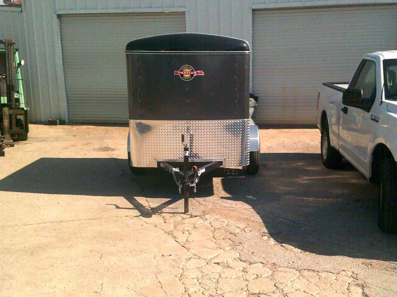 2019 Carry-On 5X8CGR Enclosed Cargo Trailer