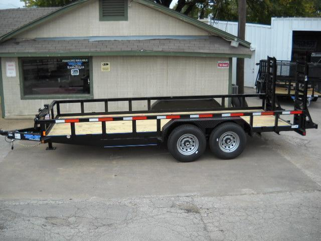 2019 Top Hat Trailers 7X16 (14000 GVWR) Equipment Trailer