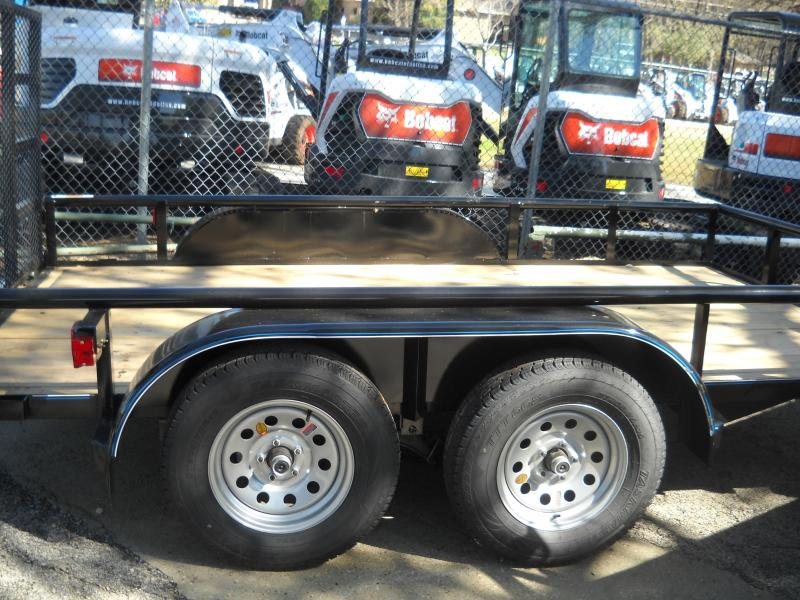 2018 Top Hat PIPE-TOP 7X12 Utility Trailer