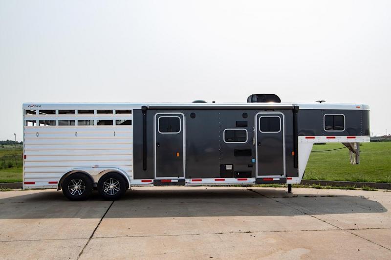 2019 Exiss Express 7311 CXF Edition LQ Horse Trailer
