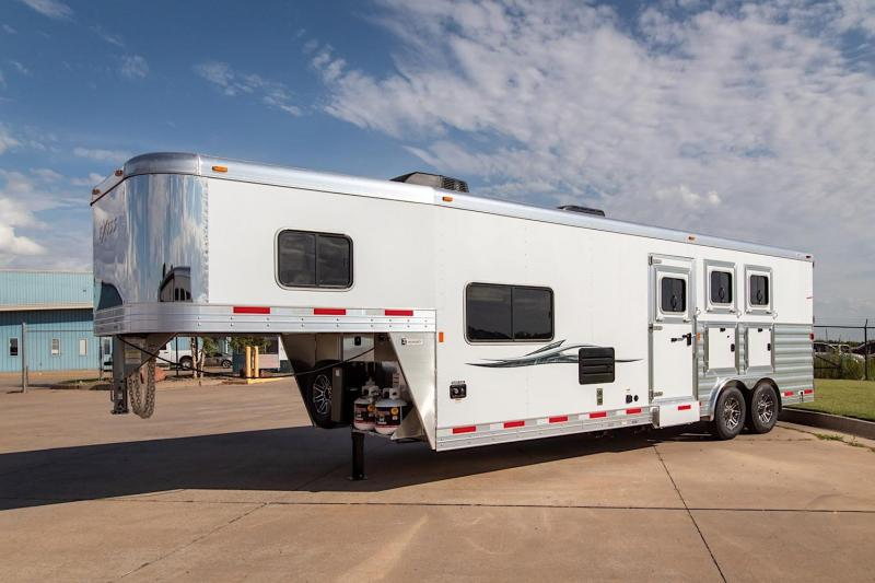 2019 Exiss Endeavor 8310 LQ Horse Trailer