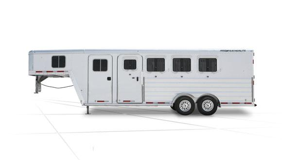 2019 Featherlite 8541 LQ Horse Trailer