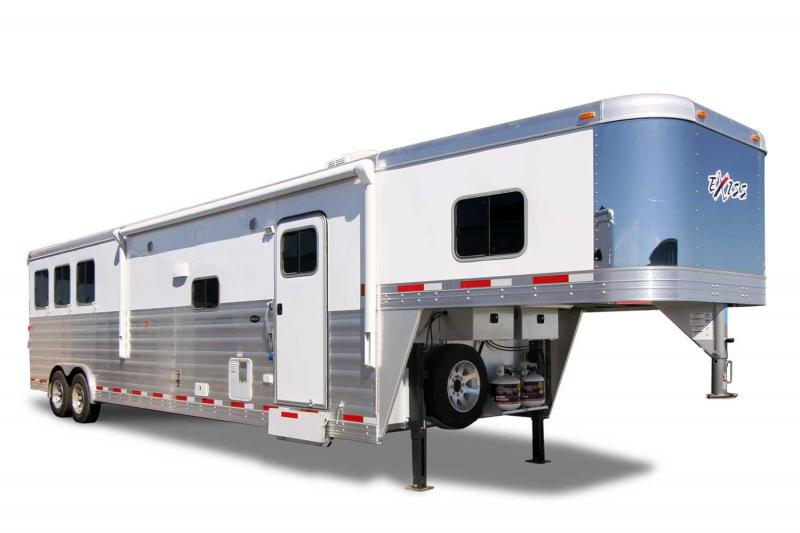 2019 Exiss Endeavor 8416 G LQ Horse Trailer