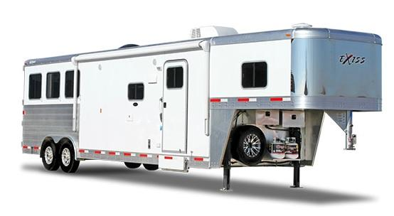 2019 Exiss Endeavor 8412 LQ Horse Trailer