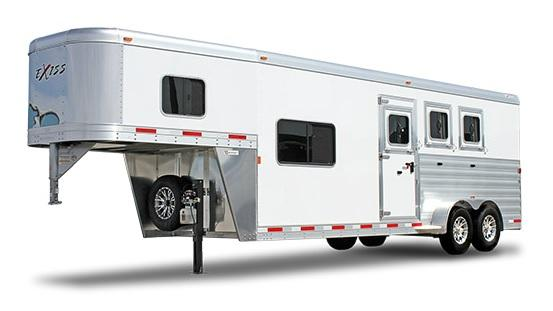 2019 Exiss Escape 7308 LQ Horse Trailer