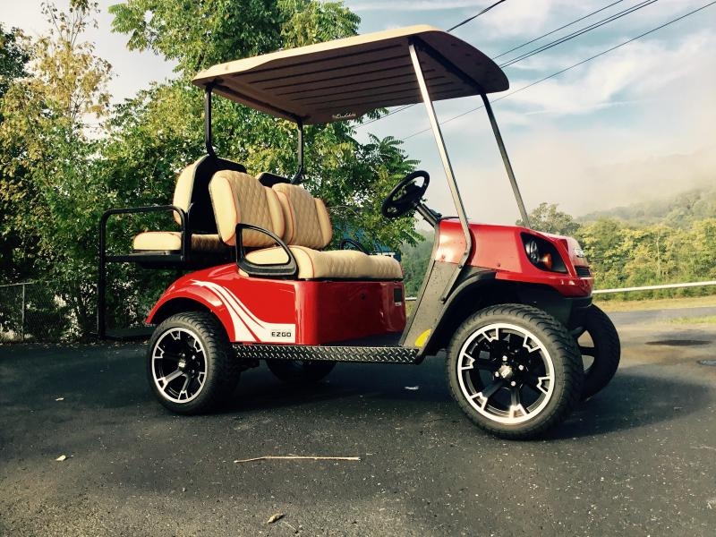 2018 E-Z-Go 72 volt 4-penger | T and T Golf Carts | Yamaha and ... on