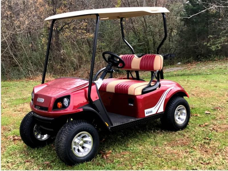 2018 E-Z-GO TXT 72v ELECTRIC Golf Cart   T and T Golf Carts   Yamaha on
