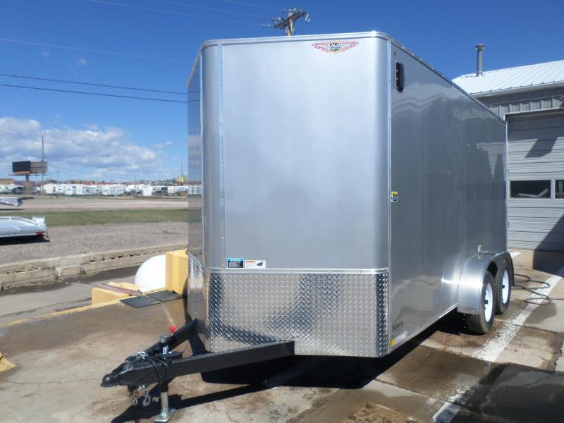 2018 H and H Trailer  Enclosed Cargo Trailer 7 X 16