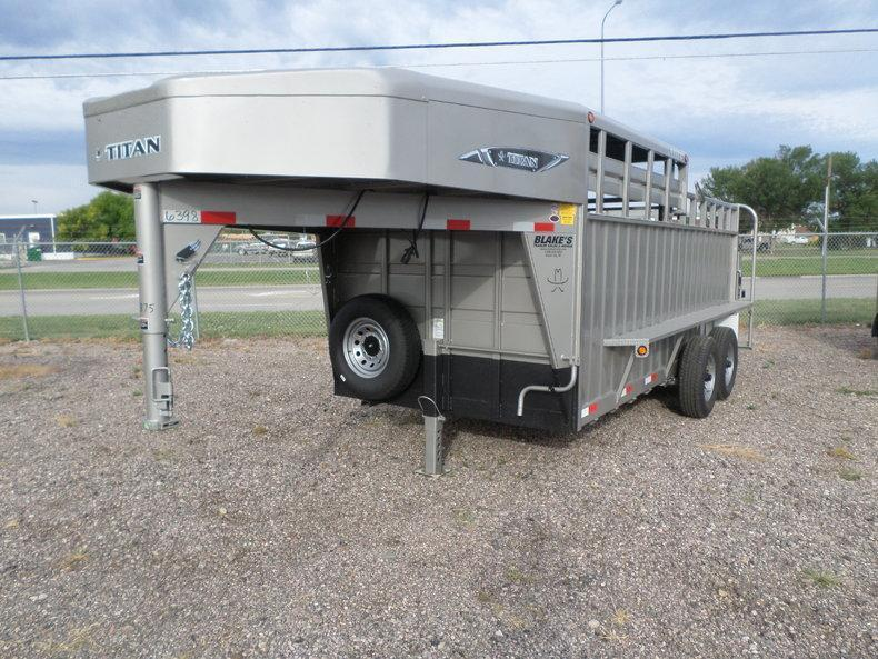 2017 Titan Trailers Stock 6'8 X 16