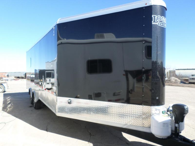 2017 Logan Coach Horsepower Enclosed Cargo Trailer