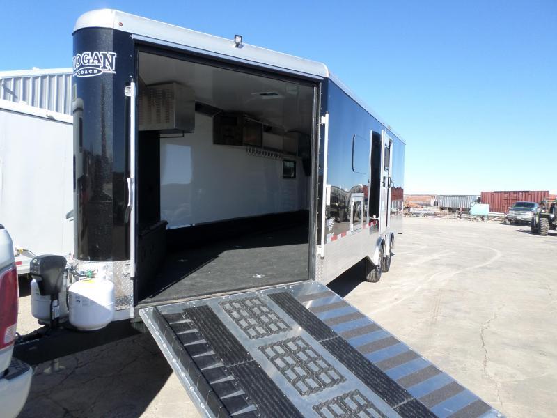 2017 Logan Coach Horsepower Enclosed Cargo Trailer
