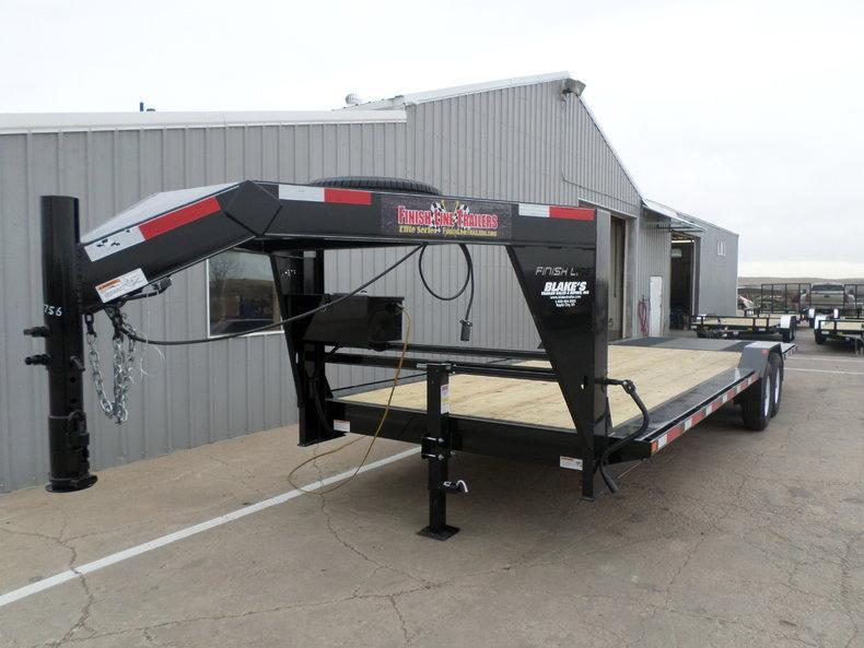 2016 Finish Line Flatbed Trailer