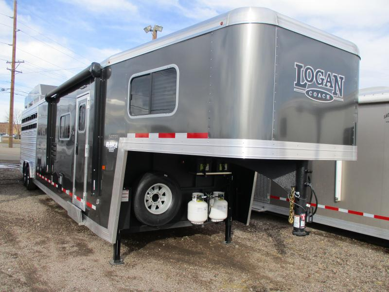 2018 Logan Coach Limited Stock Combo Trailer
