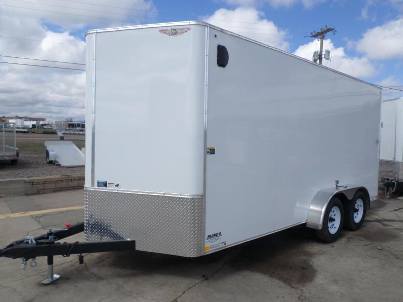 2018 H and H Trailer Cargo Enclosed Cargo Trailer 7 X 16