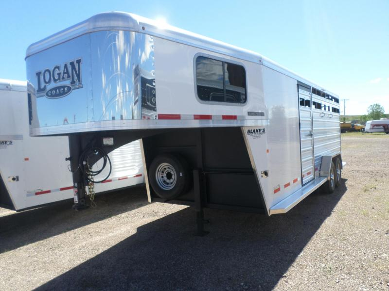 2018 Logan Coach Stock Combo Trailer 7 X 20