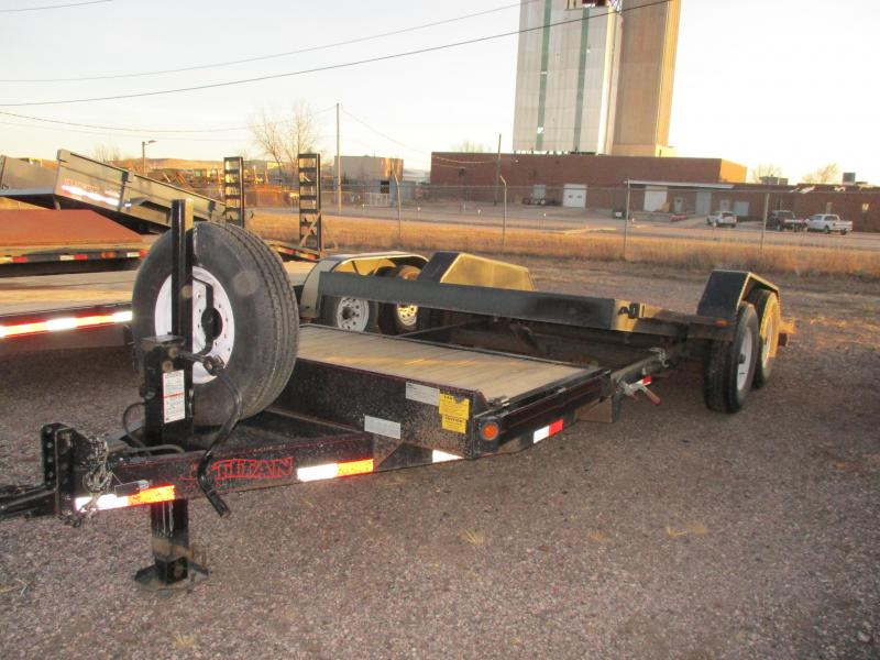 2009 Titan Trailers Tilt bed Flatbed Trailer