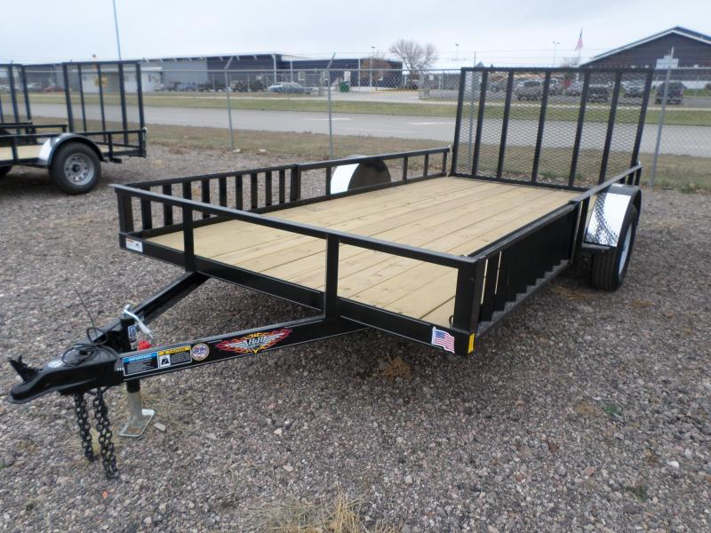 2017 H and H  Utility Trailer